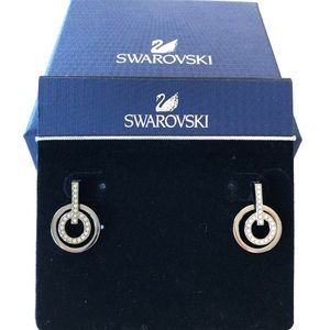 Swarovski earrings,  brand new with the tag